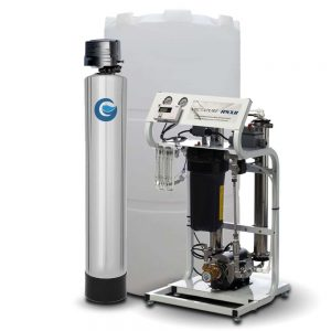GenPure RO System w/ Carbon Filter, Backwashing, & Storage Tank
